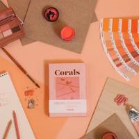 Spring make up trend:Heimish一盤在手,珊瑚色眼妝輕鬆上手。